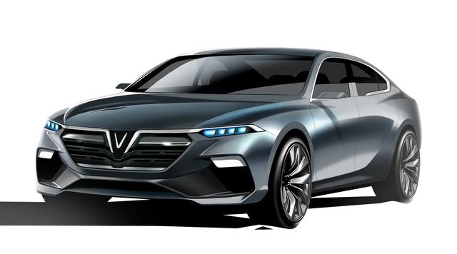 Cận cảnh 20 mẫu xe VINFAST được thiết kế riêng bởi 4 studio lừng danh thế giới: Đẹp không thua Tesla, Audi, BMW... - 14