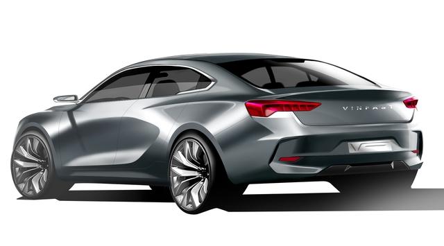 Cận cảnh 20 mẫu xe VINFAST được thiết kế riêng bởi 4 studio lừng danh thế giới: Đẹp không thua Tesla, Audi, BMW... - 15