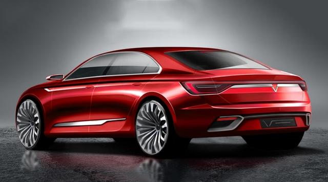 Cận cảnh 20 mẫu xe VINFAST được thiết kế riêng bởi 4 studio lừng danh thế giới: Đẹp không thua Tesla, Audi, BMW... - 16