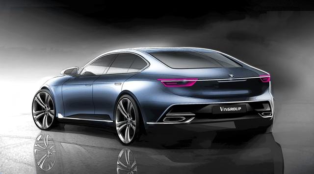 Cận cảnh 20 mẫu xe VINFAST được thiết kế riêng bởi 4 studio lừng danh thế giới: Đẹp không thua Tesla, Audi, BMW... - 22