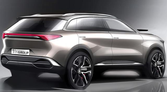 Cận cảnh 20 mẫu xe VINFAST được thiết kế riêng bởi 4 studio lừng danh thế giới: Lấy cảm hứng từ con người Việt, đẹp không thua Tesla, Audi, BMW... - Ảnh 25.