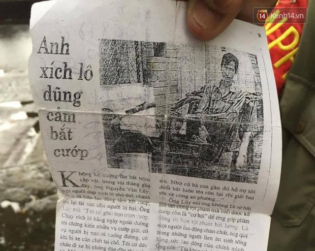 Chuyện chưa kể về bác bảo vệ mà học sinh chuyên Lê Hồng Phong cúi đầu chào mỗi ngày: Hiệp sĩ xích lô 21 lần bắt cướp - Ảnh 9.