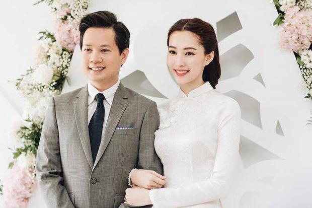 Hé lộ loạt ảnh Hoa hậu Thu Thảo đẹp tựa nữ thần, rạng rỡ bên ông xã Trung Tín trong ngày ăn hỏi - Ảnh 3.