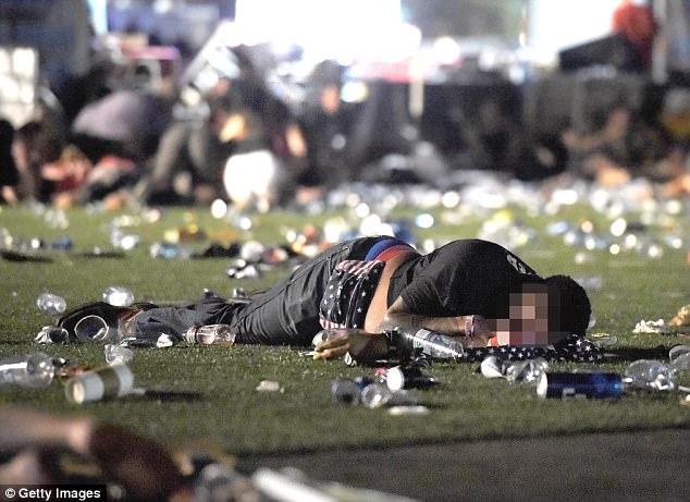 Vụ xả súng ở Las Vegas có thể coi là vụ xả súng đẫm máu nhất lịch sử hiện đại của Mỹ.(Ảnh: Getty)