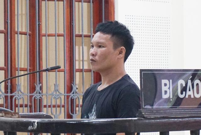 Bị cáo Phạm Đức Bền tại phiên tòa