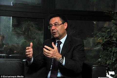 Chu tich Bartomeu Barca co the roi La Liga hinh anh