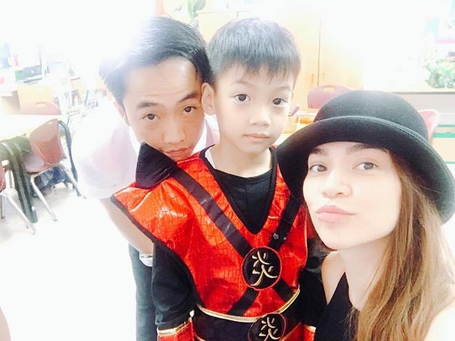 Vui tình mới, Hồ Ngọc Hà và Cường Đô La không quên cùng đưa con trai Subeo đến trường - Ảnh 1.