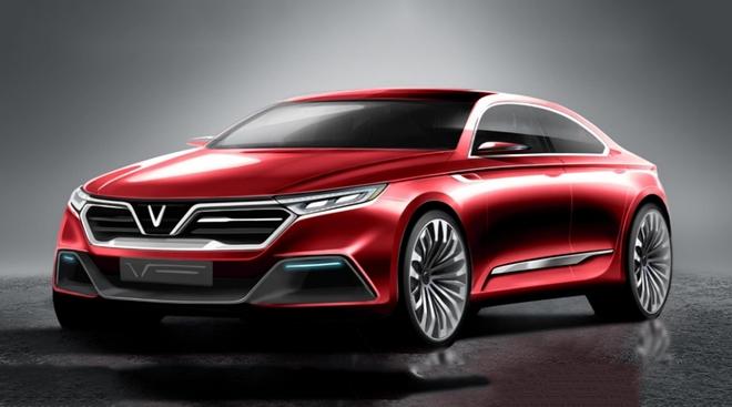 Xe của VinFast: Xe sang, hạng D, thiết kế Ý, giá không dưới 1 tỷ đồng - Ảnh 1.