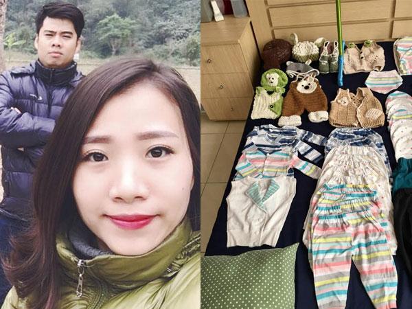 Mẹ bầu siêu khéo tay tự may toàn bộ quần áo, đóng tủ đồ cho con sắp chào đời