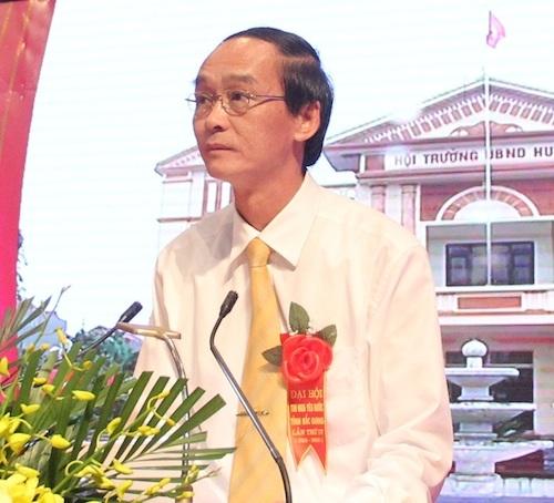 Dính hàng loạt sai phạm, ông Trần Văn Dũng - Chủ tịch huyện Yên Dũng được điều về làm Phó giám đốc sở VHTT&DL tỉnh Bắc Giang (Ảnh: Cổng thông tin điện tử tỉnh Bắc Giang).