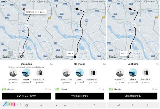 Cuoc chien cuoc san bay cua taxi truyen thong va Uber, Grab o Ha Noi hinh anh 2