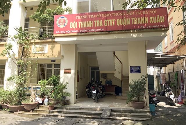 Trụ sở đội Thanh tra giao thông quận Thanh Xuân