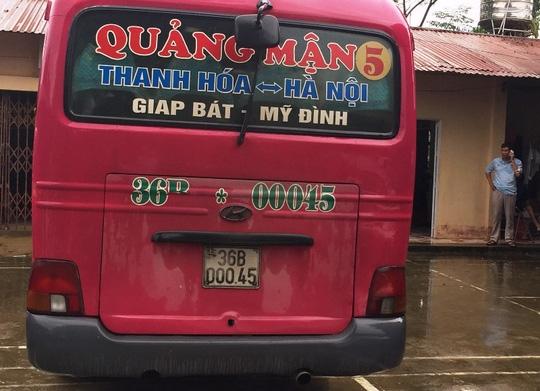 Trộm xe khách từ Thanh Hóa mang ra Hòa Bình bán 30 triệu đồng - Ảnh 2.