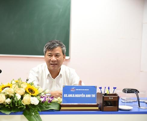 Giáo sư Nguyễn Anh Trí, Viện huyết học và truyền máu trung ương