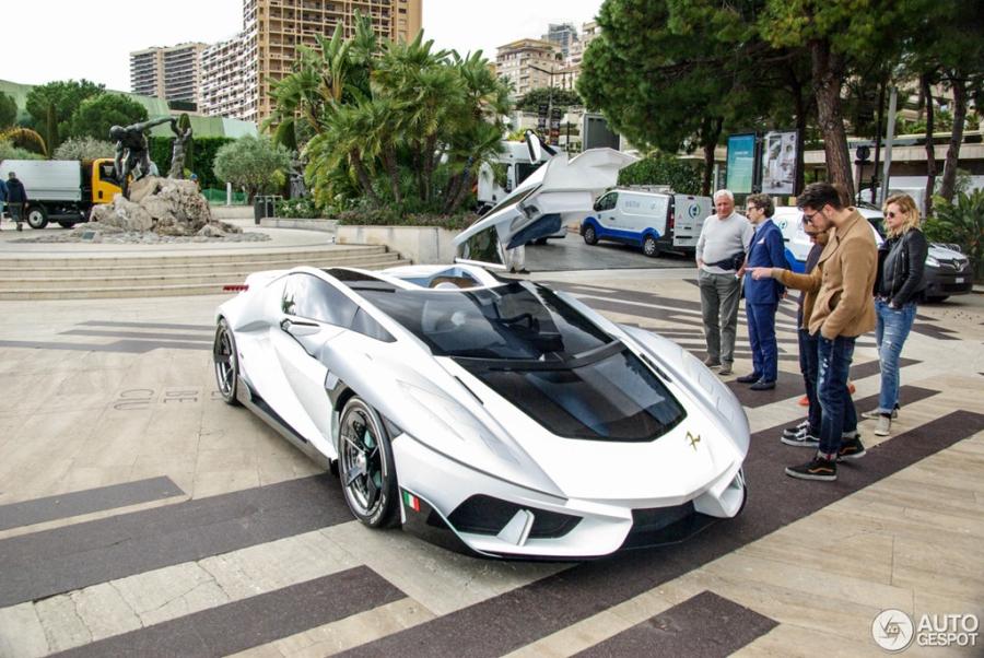 'Sieu xe vu tru' FV-Frangivento Asfane bat ngo xuat hien o Monaco hinh anh 4