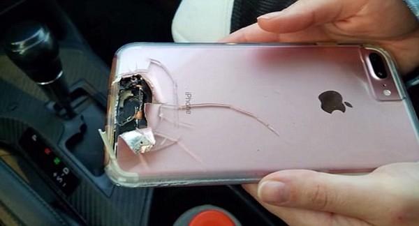 Chiếc iPhone 7 Plus đã giúp cứu mạng chủ nhân của mình
