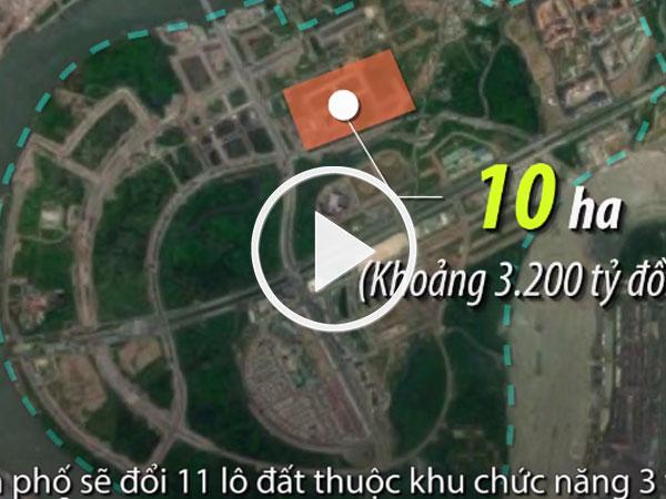 Video: TP HCM đổi hơn 12 ha đất lấy cây cầu 5.200 tỷ đồng