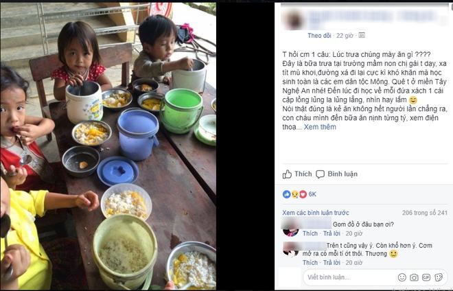 Nghẹn lòng trước câu chuyện về bữa cơm đạm bạc của những em bé vùng cao ngay ngày Trung Thu - Ảnh 4.