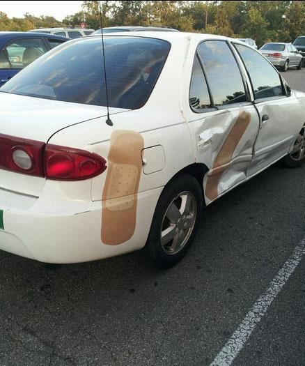 Chết cười với những chiêu sửa xe không thể tạm bợ và khó đỡ hơn - Ảnh 8.