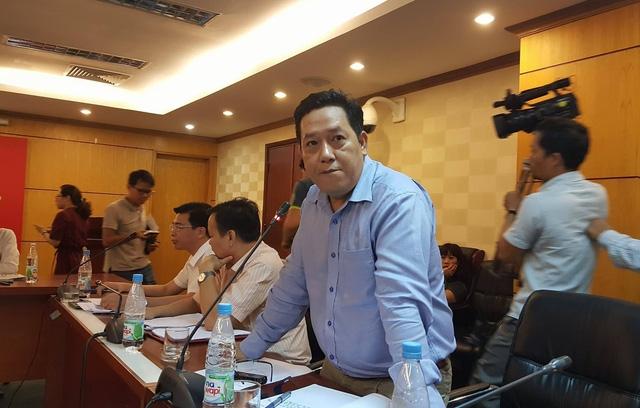 Ông Nguyễn Xuân Quang - người báo mất trộm gần 400 triệu đồng trong chuyến thanh tra tại Long An.