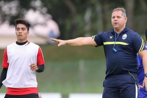 HLV Leonardo Vitorino sẵn sàng cho trận đấu với tuyển Việt Nam