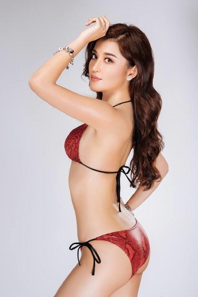 """Huyền My siêu nóng với bikini trước khi """"chinh chiến"""" Hoa hậu Hòa bình thế giới - 1"""