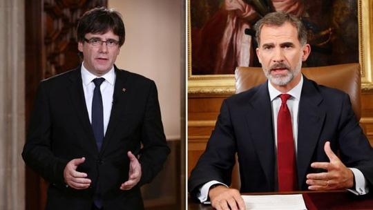 Lãnh đạo Catalonia chỉ trích vua Tây Ban Nha - Ảnh 1.