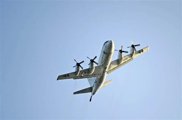 Máy bay trinh sát P3 Orion của Mỹ (Ảnh: NBC)