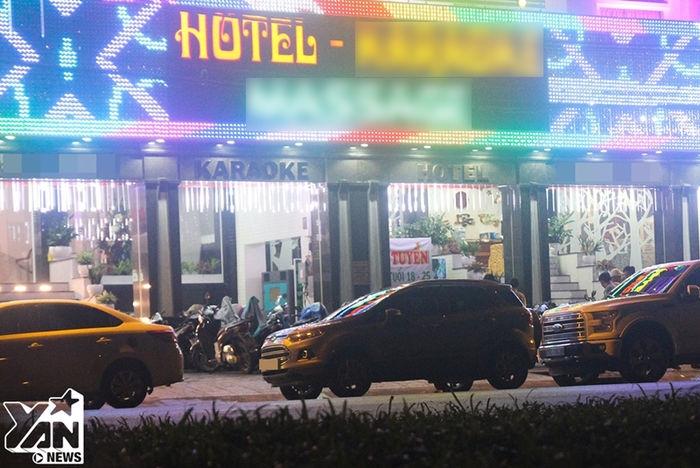 Một khách sạn đường vành đai trong (Quận Bình Tân).