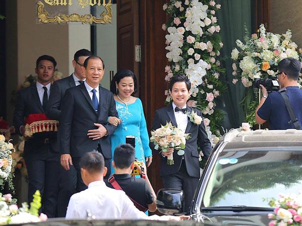 CẬP NHẬT: Dàn siêu xe chuẩn bị cho lễ rước dâu Hoa hậu Đặng Thu Thảo