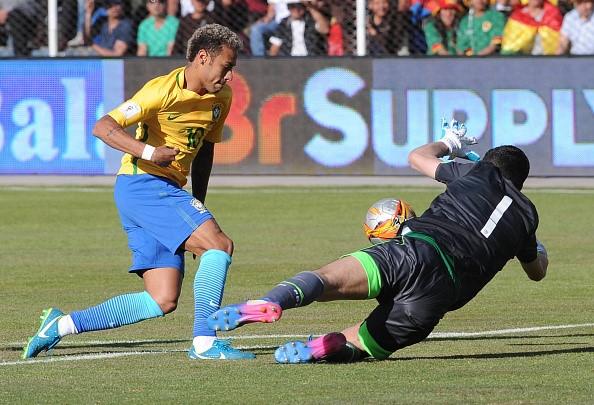 Neymar dut diem te trong tran Brazil doi dau Bolivia hinh anh 1