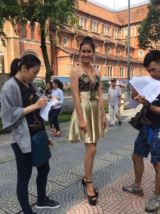 Tạo dáng chuyên nghiệp như Huyền My và dàn Hoa hậu các nước còn phải chào thua thí sinh đặc biệt này! - Ảnh 9.