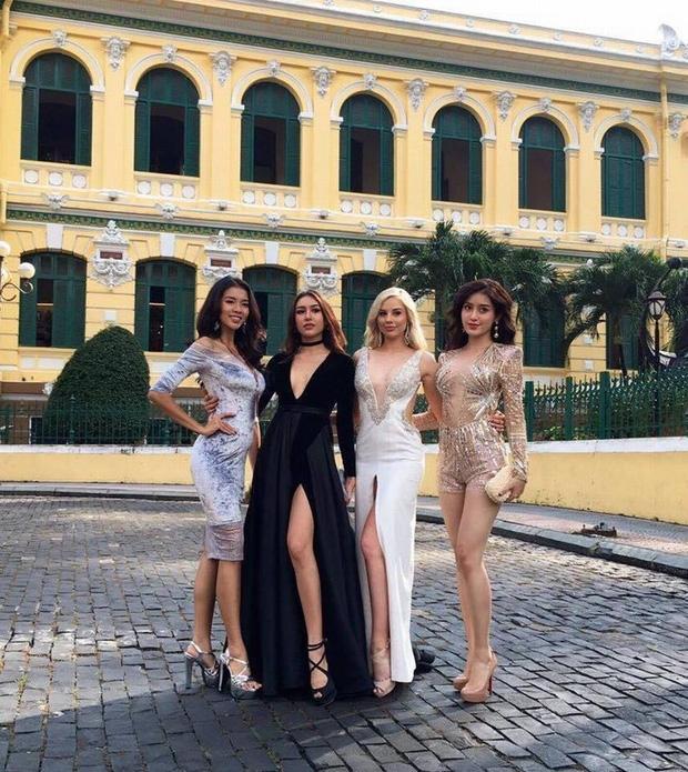Tạo dáng chuyên nghiệp như Huyền My và dàn Hoa hậu các nước còn phải chào thua thí sinh đặc biệt này! - Ảnh 13.
