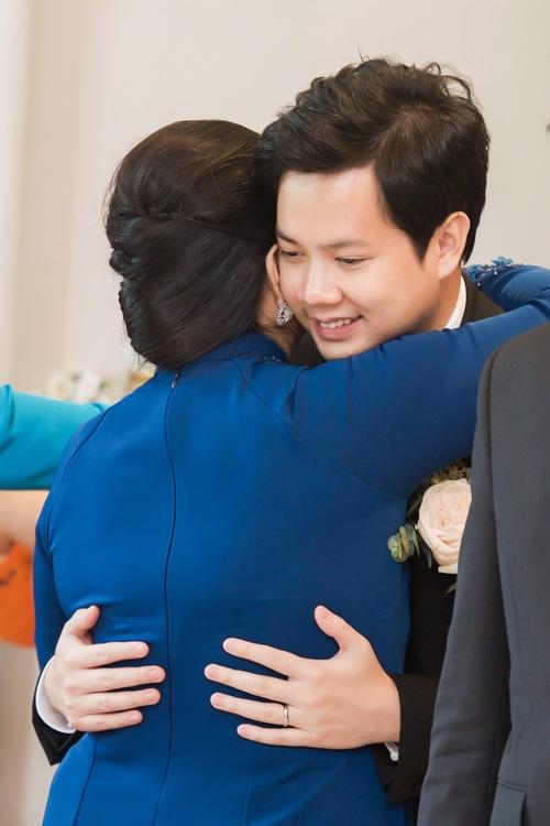 Toàn cảnh lễ rước dâu: Đặng Thu Thảo rơm rớm nước mắt bên ông xã Trung Tín - Ảnh 5.