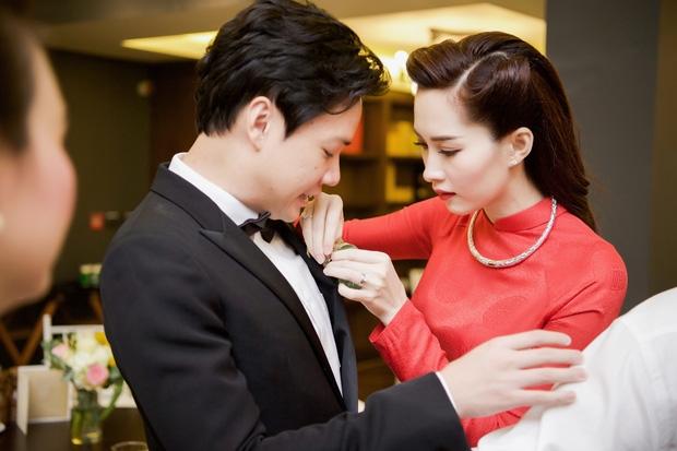 Toàn cảnh lễ rước dâu: Đặng Thu Thảo rơm rớm nước mắt bên ông xã Trung Tín - Ảnh 6.