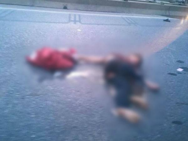 Hà Nội: Một nam thanh niên có biểu hiện say rượu chạy xe máy gây tai nạn, cả tuyến đường vành đai 3 ùn tắc