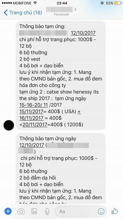 Cô gái bị tố quỵt tiền nhóm diễn viên trẻ ở Sài Gòn sau khi hứa hẹn trả cát-xê 6.000 USD sang Singapore đóng clip - Ảnh 2.