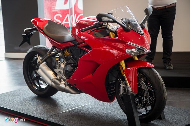 Ducati SuperSport ve Viet Nam, gia tu 514 trieu dong hinh anh 1