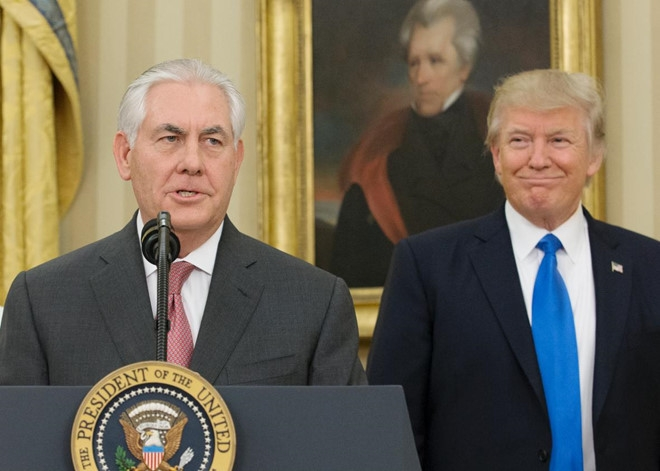 Ngoai truong Tillerson noi voi Trump: 'Nuoc My khong can hoi lo' hinh anh 2