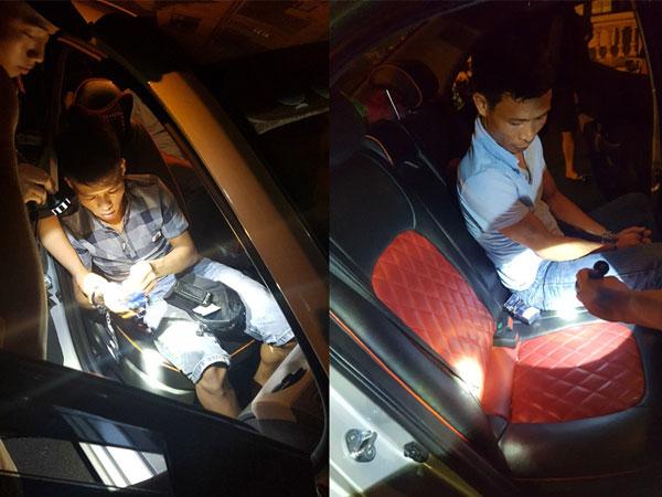 Cảnh sát chặn taxi chạy quá tốc độ, chở 594 viên ma túy