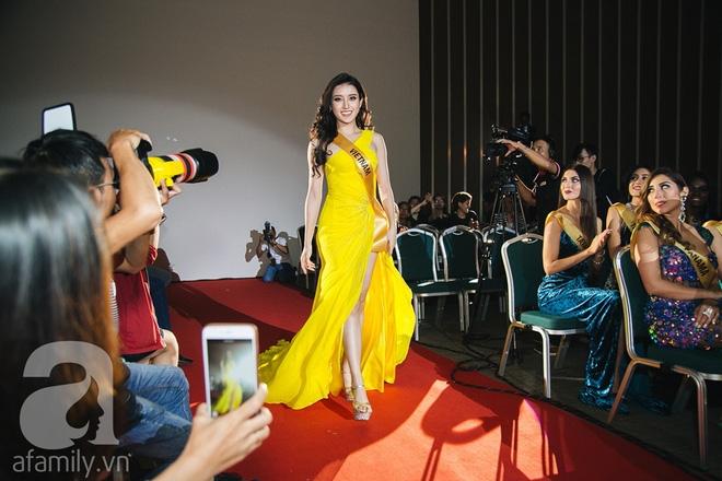 Á hậu Huyền My xinh đẹp nổi bật giữa dàn thí sinh Miss Grand International 2017 - Ảnh 1.