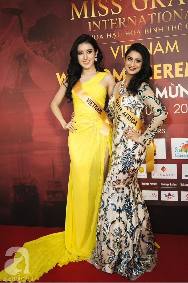 Á hậu Huyền My xinh đẹp nổi bật giữa dàn thí sinh Miss Grand International 2017 - Ảnh 2.