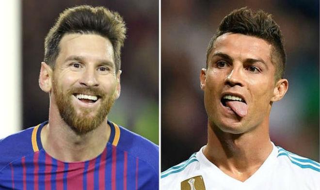 Barca có thể đá Ngoại hạng Anh: Ronaldo nhắn Messi giữ chân cẳng - 1