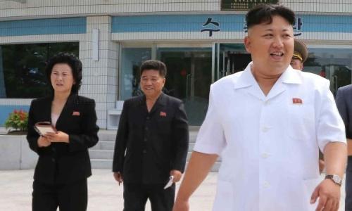 Kim Yo-jong (trái) và ông Kim Jong-un. Ảnh: KCNA.