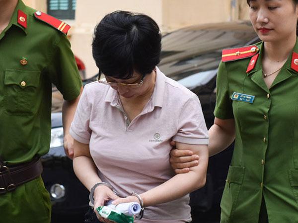 Bị cáo Châu Thị Thu Nga lừa gần 400 tỷ bị đề nghị án chung thân