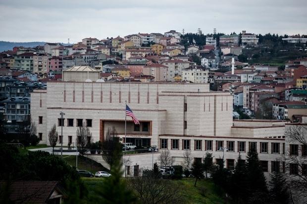 Lãnh sự quán Mỹ tại Istanbul (Ảnh: AFP)