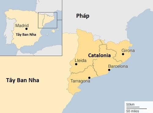 Bien nguoi Catalonia phan doi doc lap, the trung thanh voi Tay Ban Nha hinh anh 8