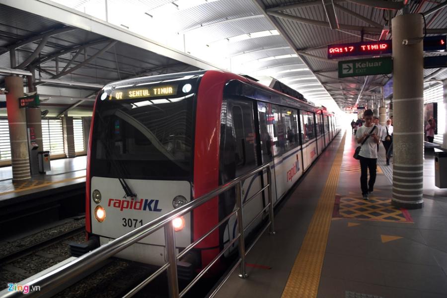 Can canh cac tuyen metro o Malaysia hinh anh 8