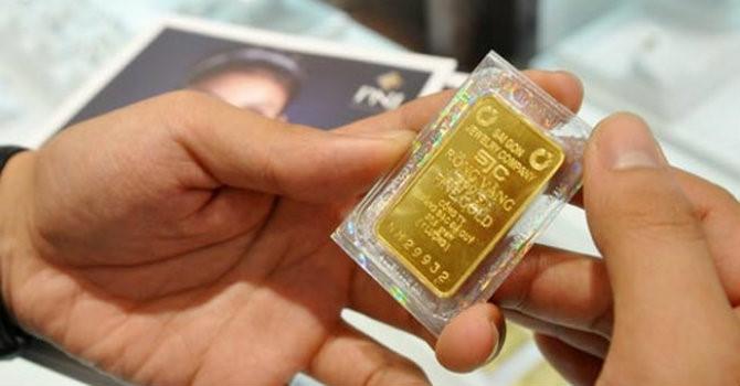 Giá vàng SJC tăng phiên thứ 5 liên tiếp