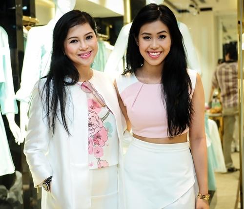 Cựu diễn viên Thủy Tiên và con gái Thảo Tiên